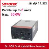 inversor solar híbrido 2kVA 24V da grade de ligar/desligar com o controlador solar da carga de 80A MPPT