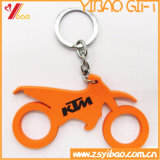 PVC Keychain/Keyring/Keyholder do logotipo de Customed, lembrança (YB-HD-144)