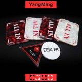 포커 게임 Ym-Ai01를 위한 상표 상인 단추에서 택사스 Holdem 부지깽이 테이블 전부