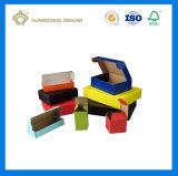 전자공학 제품을%s 다채로운 인쇄된 물결 모양 포장 상자 (플라스틱 손잡이에)