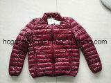 아래로 Stcok 재킷, 남자 90의 가벼운 다운 재킷, 재고 의복