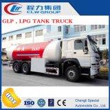 販売のためのHOWO 20m3 GLP LPGの交通機関タンクトラック