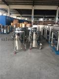車輪およびTriclampのステンレス鋼の移動可能なドラム