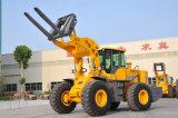 6 Tonnen Rad-Gabelstapler-Ladevorrichtungs-für Marmor mit Cer ISOSGS