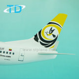 B737-400 полимера 1/100 Boeing Model на борту самолета