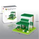 14889316-Micro Kit bloque restaurante temático Juego de bloques de construcción de la serie educativa creativa juguete DIY 280PCS