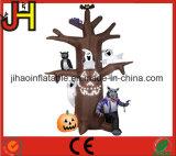 صنع وفقا لطلب الزّبون [هلّووين] شجرة قابل للنفخ, [هلّووين] زخرفة قابل للنفخ لأنّ عمليّة بيع