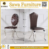 椅子を食事する熱い販売の丸背のステンレス鋼