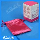 Cuvette menstruelle de silicones de pente médicale de 100% pour la menstruation