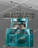 Máquina para hacer punto circular hecha punto de Jersey del doble del alto rendimiento de las telas