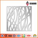 Ideabond 2017 recomienda el panel compuesto de aluminio del diseño creativo que talla la pantalla