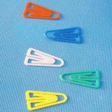 착색된 플라스틱 원통 모양 강요 Pin 훈장 (QX-HP014)