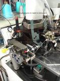 Máquina para hacer punto de los calcetines automáticos con conexiones y dispositivos de torneado