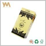 Cuadro de perfume de papel con impresión CMYK