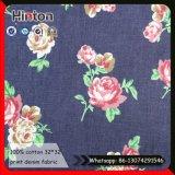 Tissu de denim à la mode 100% coton 4 tissus Jean Tissu