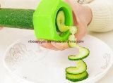 Veggie Spiralizer инструмента кухни, многофункциональный Masher картошки, практически спиральн Slicer, Slicers банана улучшает Vegetable плодоовощ (резец) огурца Esg10202