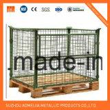 Accesorio de paletización Convertidor de palets de neumáticos de acero de la jaula de rack