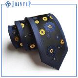 Qualitäts-Polyester-Gleichheit-Blumen-Krawatte anpassen