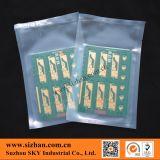 Sachet en plastique clair de PE pour la carte d'emballage