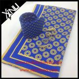 100 % soie imprimés hommes cravate avec foulard assortis