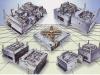 Elektronische Vorm Enige Compoments of Multicavity
