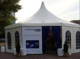 Hexagon Tent van de Vorm van de rand voor de Partij van de Gebeurtenis van het Huwelijk van de Tentoonstelling