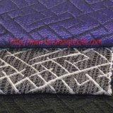 Tela de poliéster hilado teñido jacquard Tela de fibra química de vestido de la mujer Textiles para el hogar