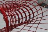 Replik, die Gaststätte-stapelbare Zeichenketten roten Panton Stahldraht-Stuhl speist