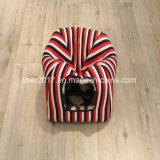 Het klassieke Rode Bed van de Kooi van het Huisdier van het meubilair van het Huis van de Kat van Strepen