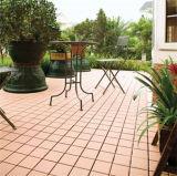 Azulejos de cerámica respetuosos del medio ambiente y de RoHS del Decking de suelo para el uso del jardín
