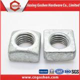 DIN557 place d'acier inoxydable Nut