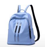 Morral simple de la PU del bolso de escuela del bolso del recorrido del estilo de la manera