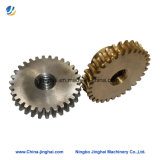 Precisão de usinagem CNC personalizadas da Engrenagem de cobre