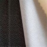 卸し売り製造者最もよいポリエステルジャケットのあや織りによって編まれる可融性に行間に書き込むこと
