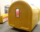 最もよい品質、移動式食糧トラックのキオスク機械容器