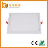 luz de teto interna da iluminação de painel 85-2650V do diodo emissor de luz do quadrado da lâmpada 6W