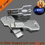 Populaire LEIDENE van de Giften van het Kristal Lichte Zeer belangrijke USB Pendrive (yt-3213-09)