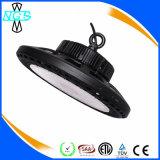 Luz elevada do louro do diodo emissor de luz do UFO da luz industrial 150W 200W de SMD