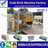 Le célèbre appareil Qt40-2 Manual Buy Block Making Machine / Brick Concrete Machine
