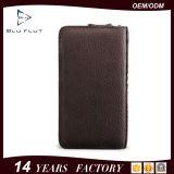 Portefeuilles van de Hand van het Paspoort van Allport van het Leer van het Embleem van de Douane van de Prijs van de fabriek de Echte