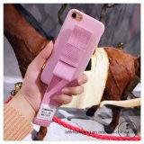 Caja del teléfono de la cuerda de la mano con la caja móvil del teléfono celular de la venda de muñeca para iPhone8/8plus7/7plus/6s/6splus