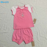 Bubble Sleeve Baby Clothes Summer Baby Girl Set