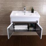 Foshan Proveedor Ss tocador de baño con espejo de iluminación 076