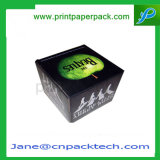 Cadre de empaquetage se pliant de papier de parfum d'emballage cosmétique léger fait sur commande de bijou