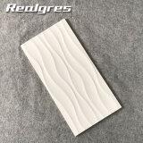 3Dインクジェット白い300X600ドバイ陶磁器の艶をかけられた壁Tliles