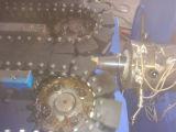 Труба из волнистого листового металла PVC одностеночная делая машину Sj-55