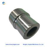 Partie d'usinage CNC en métal ou en acier inoxydable ou laiton/manchon d'arbre de roulement