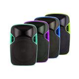 12 pouces à la mode de plastique de la PA DEL de haut-parleur de projection