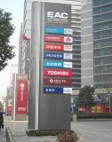 Outdoor Hotel Hospital Parque de coches Directorio comercial Publicidad Display Digital Iluminado Freestanding Signage Totem