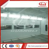 Línea aprobada línea de capa del polvo de la carrocería de coche del equipo del cuidado de coche (GL-L4) de las Doble-Bahías del Ce